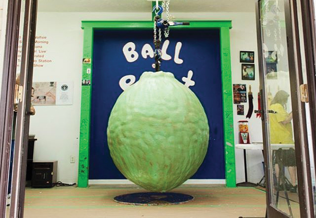 World's Largest Ball of Paint in Alexandria