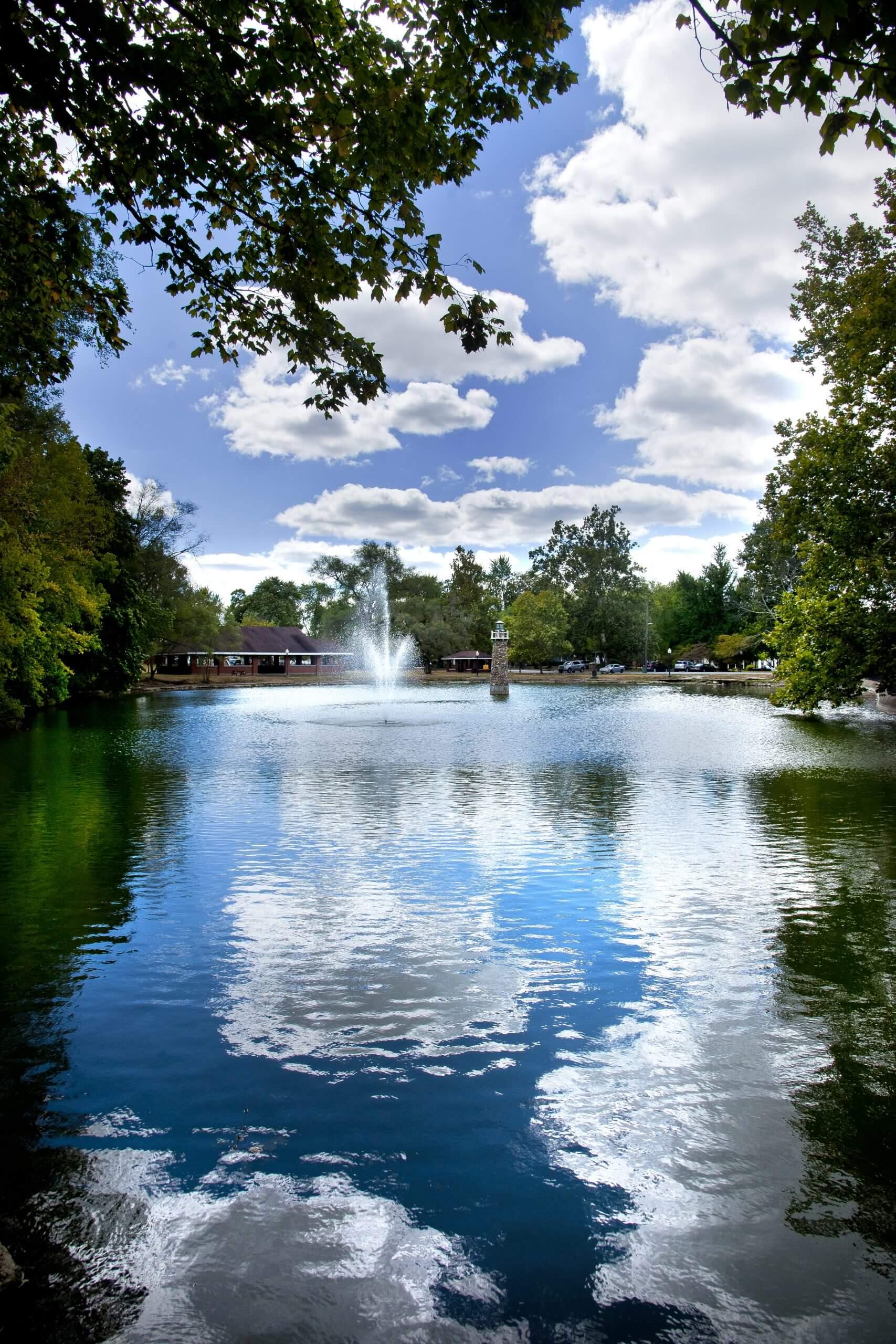Falls Park in Pendleton