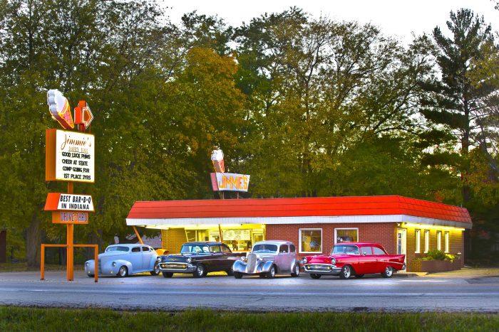 Jimmie's Dairy Bar in Pendleton