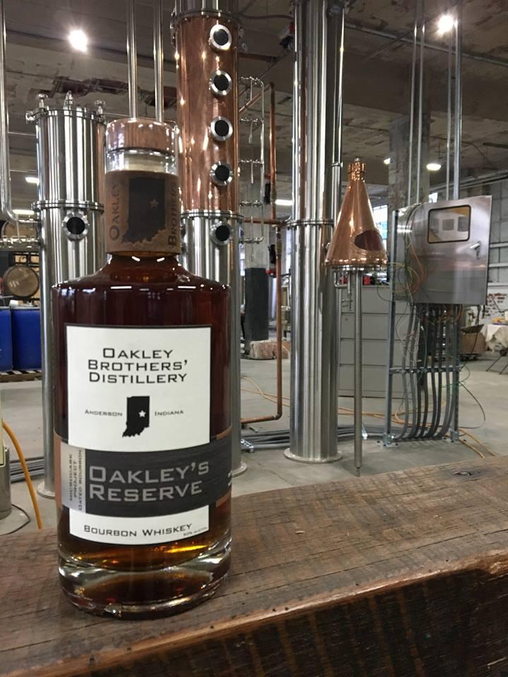 Oakley Brothers Distillery in Anderson