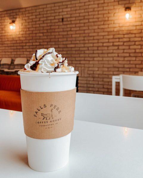 Falls Perk Coffee House in Pendleton
