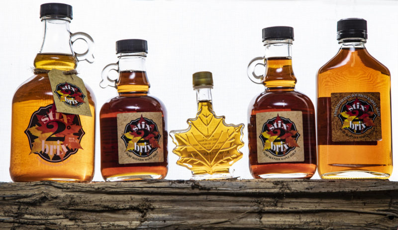 stix2brix Pure Hoosier Maple Syrup in Anderson